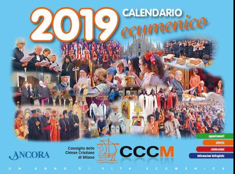 Calendario Ecumenico 2019 locandina